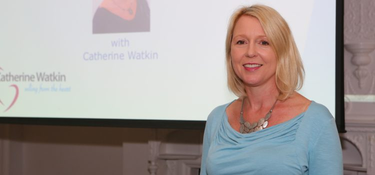 Improving our sales skills with Catherine Watkin